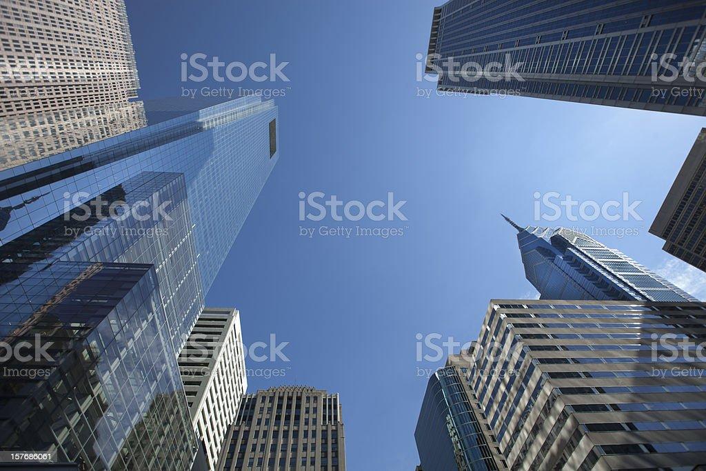 Philadelphia Skyscrapers royalty-free stock photo