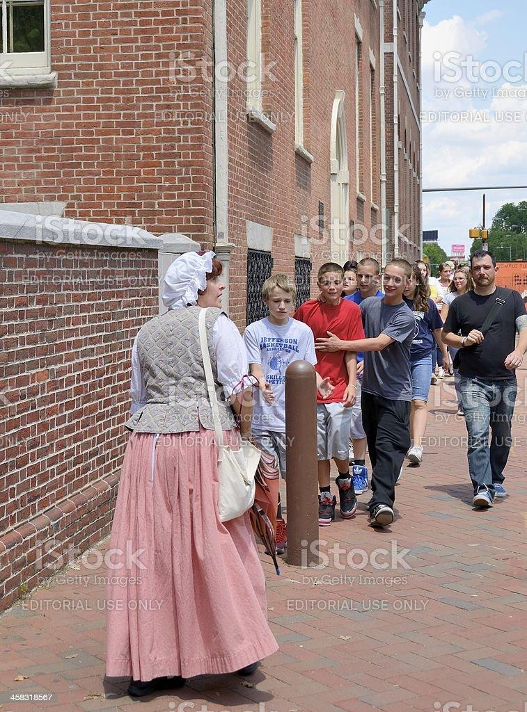Philadelphia Street Scene royalty-free stock photo