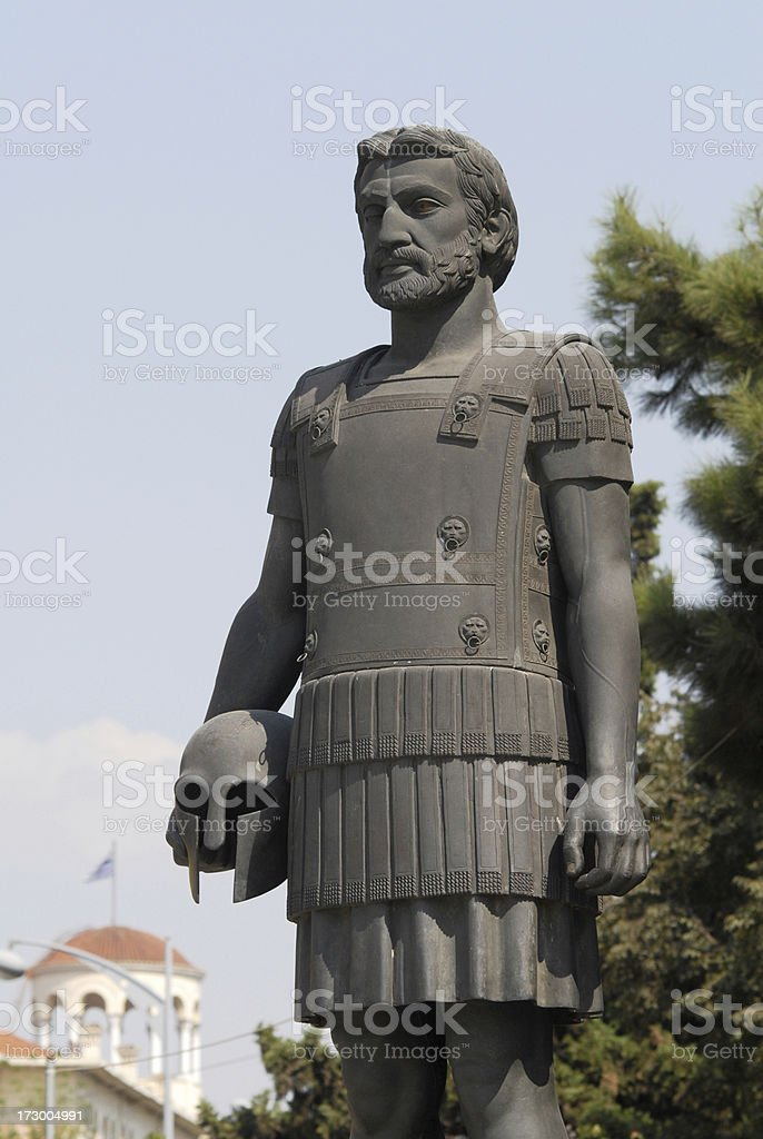 Philip II, father of Alexander the Great stock photo