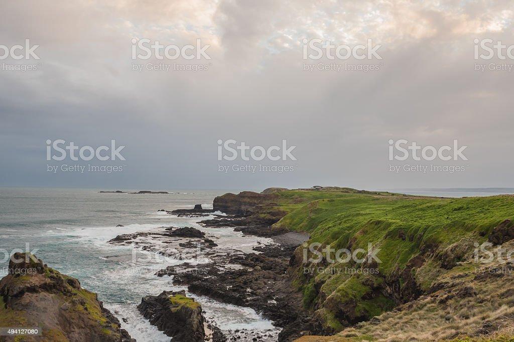 Philip Island stock photo