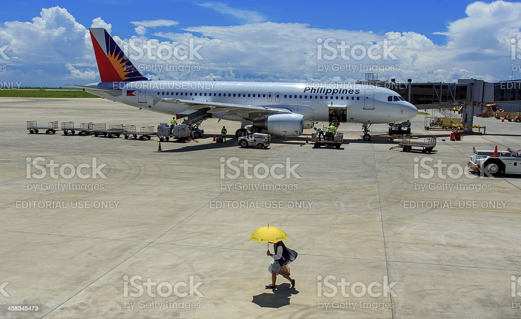 Philipine aviation industry royalty-free stock photo