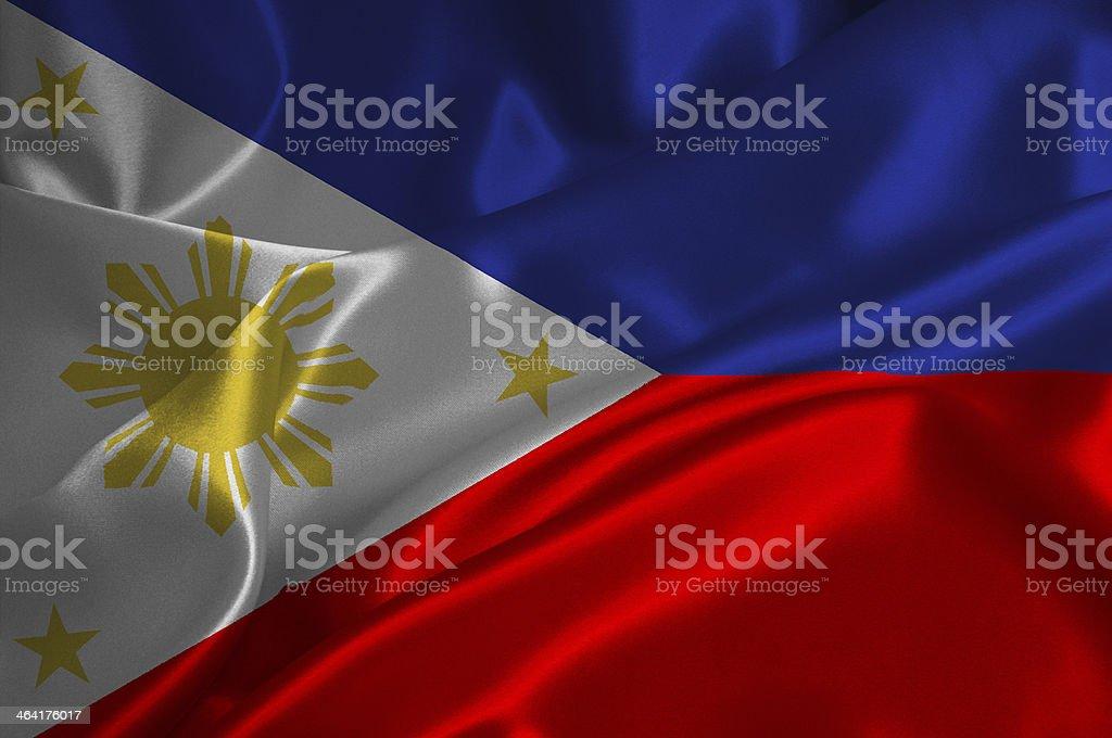 Philipines flag stock photo