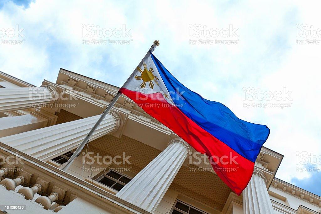 Philippine Embassy stock photo