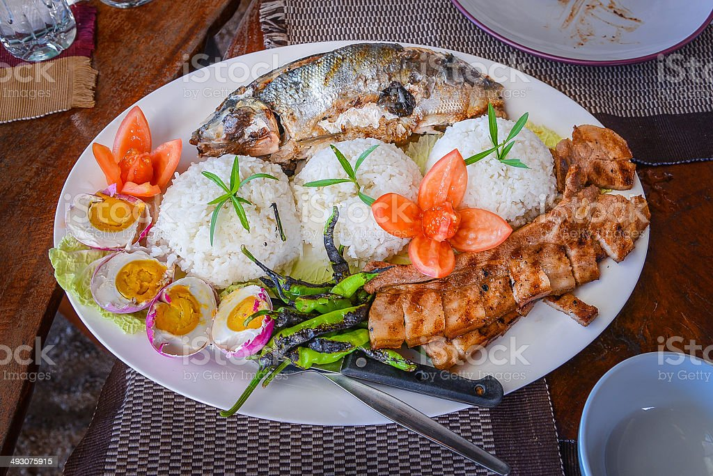Philippine Food stock photo