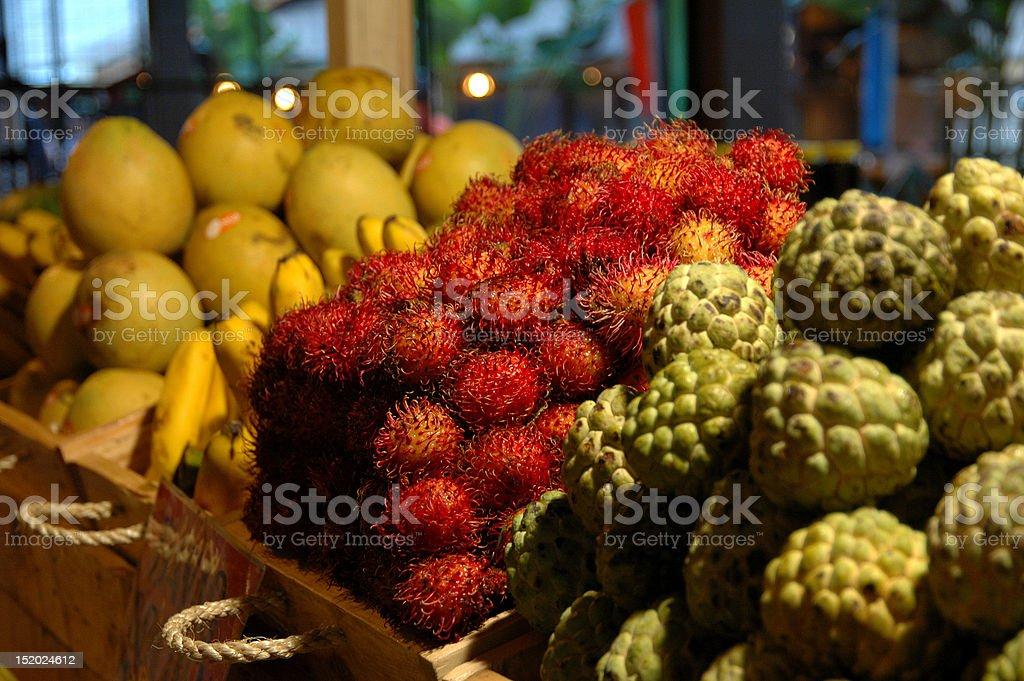 Philippine fruits royalty-free stock photo