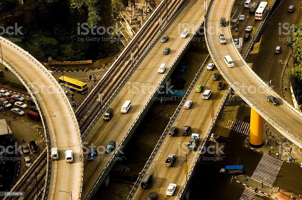 Philippine Roads stock photo