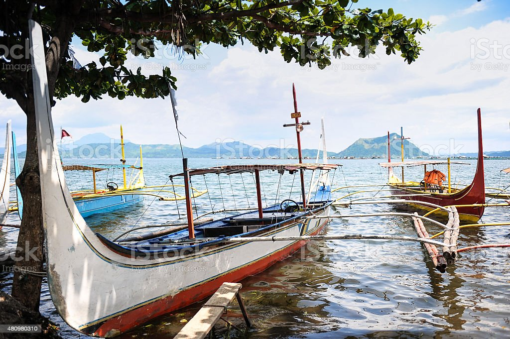 Philippine's boat stock photo