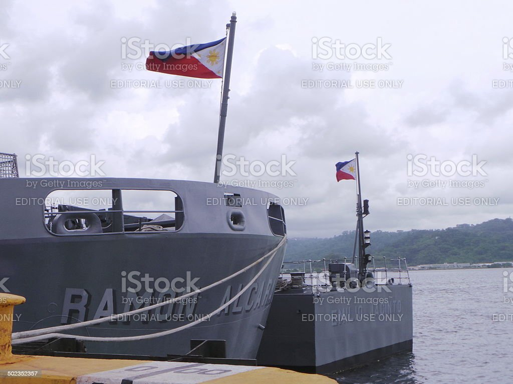US - Philippines conducts CARAT 2014 stock photo