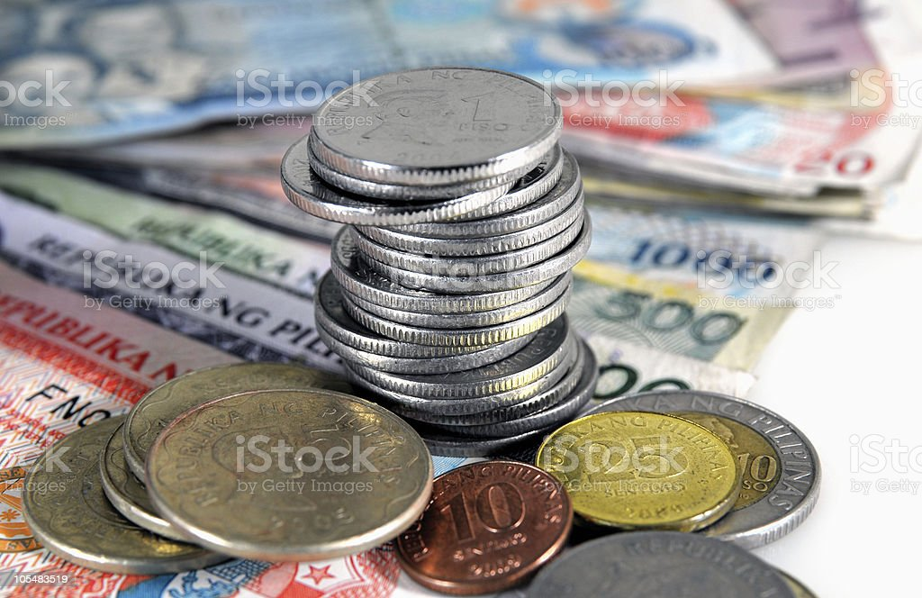 Philippines Currency royalty-free stock photo