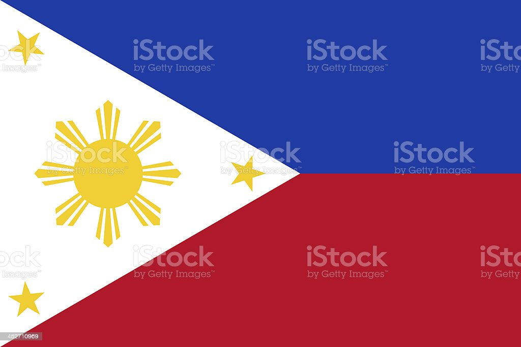 Philippines Flag stock photo