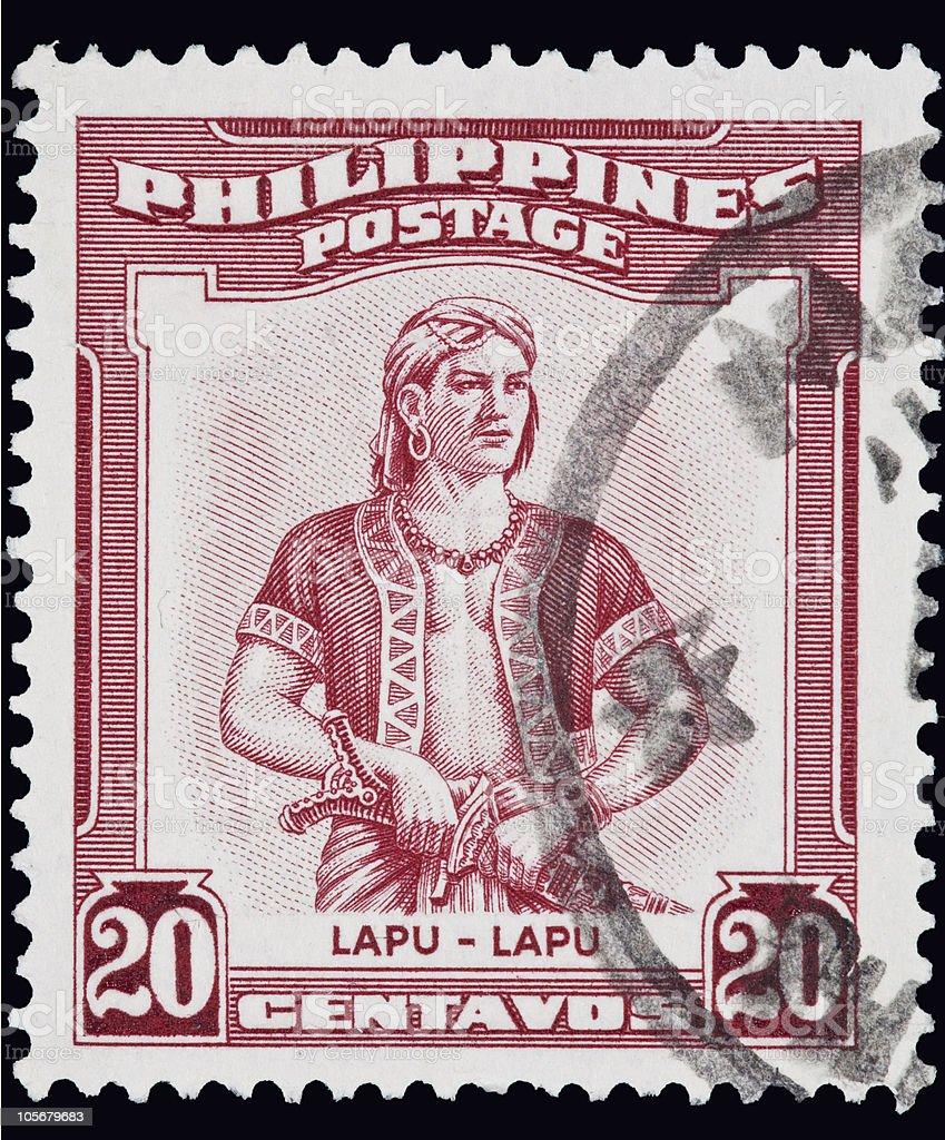 Philippines hero Lapu-Lapu stock photo