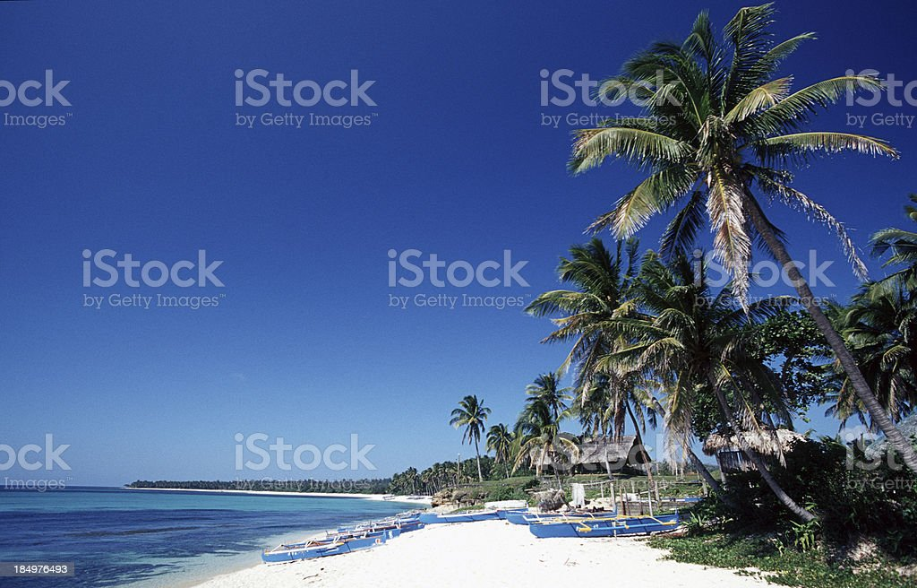 'Philippines, Ilocos Norte, Pagudpud Beach.' stock photo