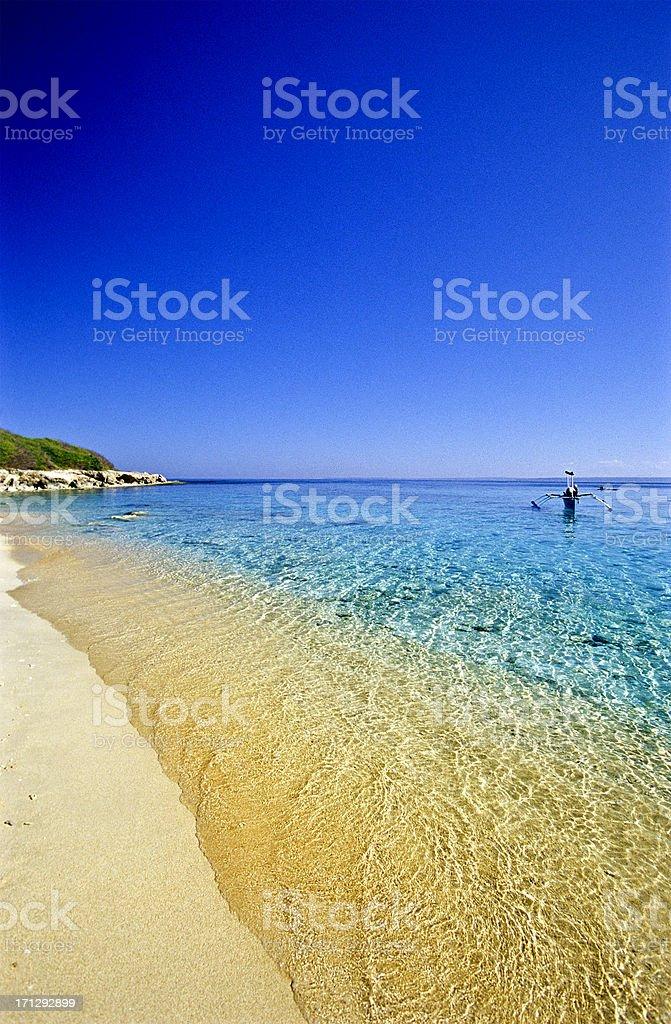 'Philippines, Ilocos Norte Province, Badoc Island.' stock photo