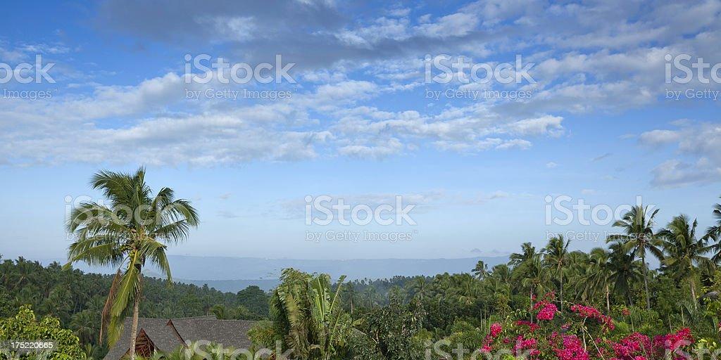 Philippines landscape stock photo