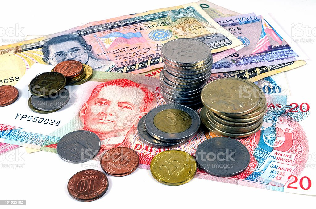 Philippines Money stock photo