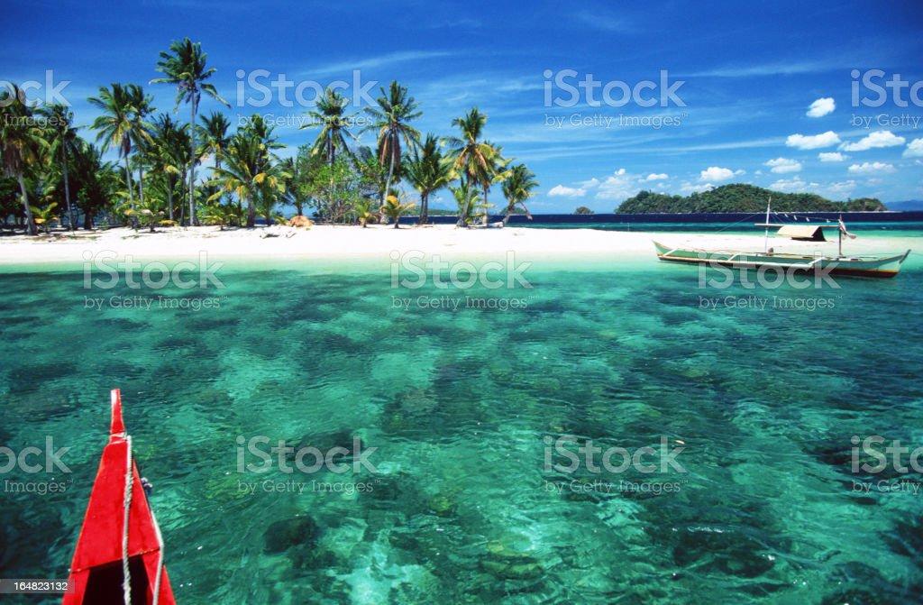 Philippines, Palawan, El Nido, island. stock photo