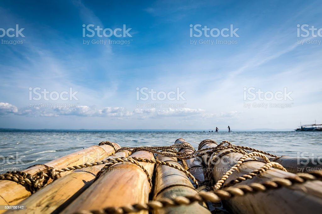 Philippines- Raft stock photo