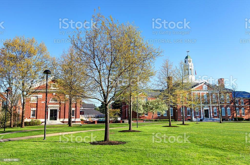 Phillips Exeter Academy stock photo