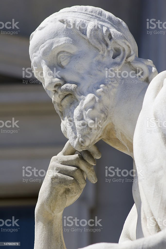 philosopher from vienna royalty-free stock photo
