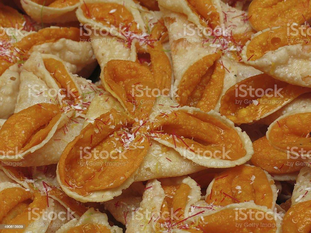 Phini, Nepalese Snack stock photo