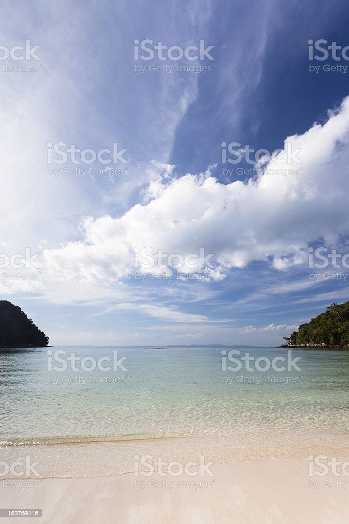 Phi-phi beach stock photo