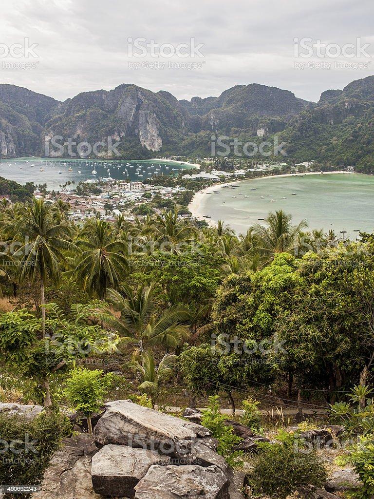 Phi-Phi Island Thailand royalty-free stock photo