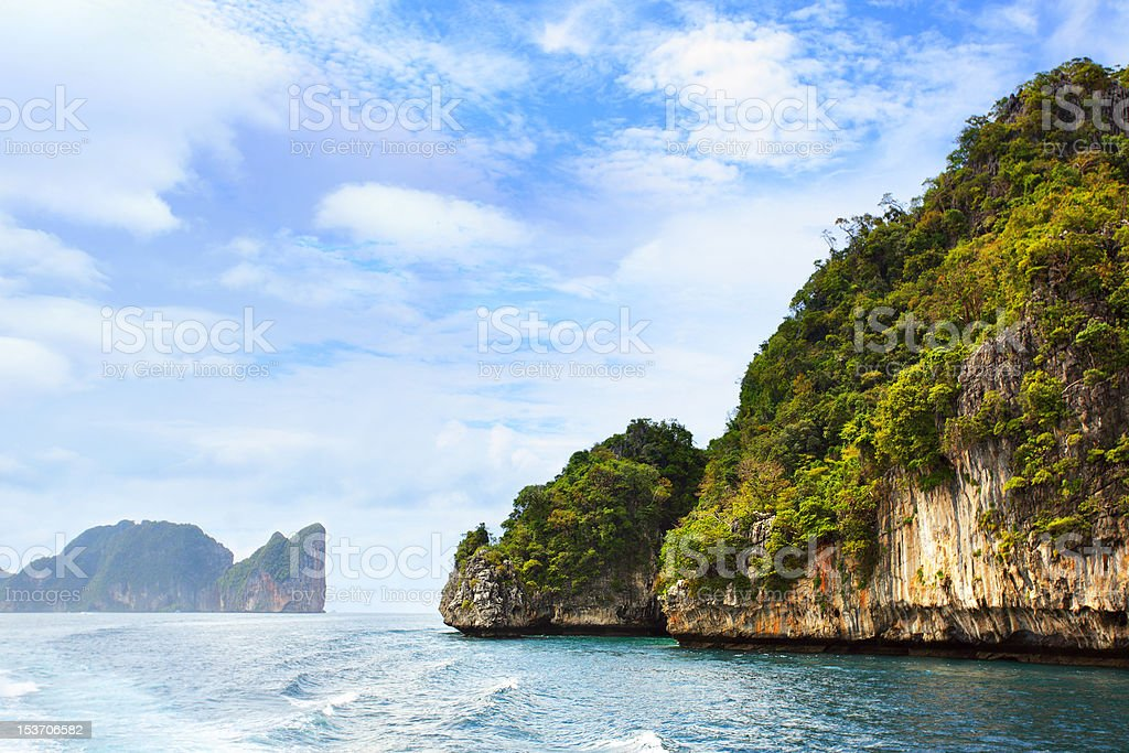 Phi-Phi islands royalty-free stock photo