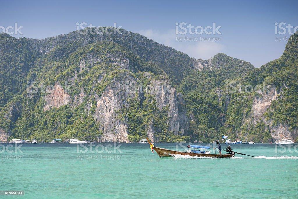 Phi-Phi Islands, Thailand stock photo