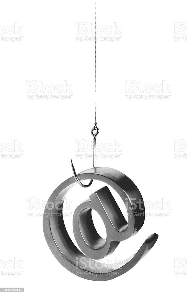 Phishing Email royalty-free stock photo