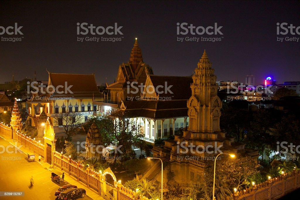 Phnom Penh Temple royalty-free stock photo