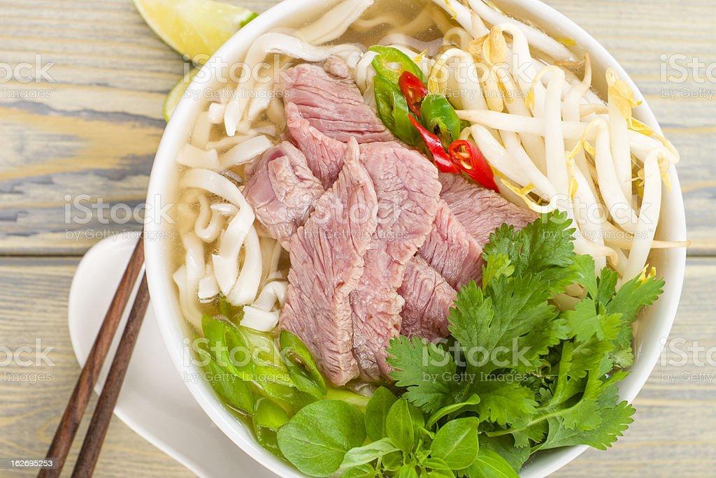 Pho Bo royalty-free stock photo
