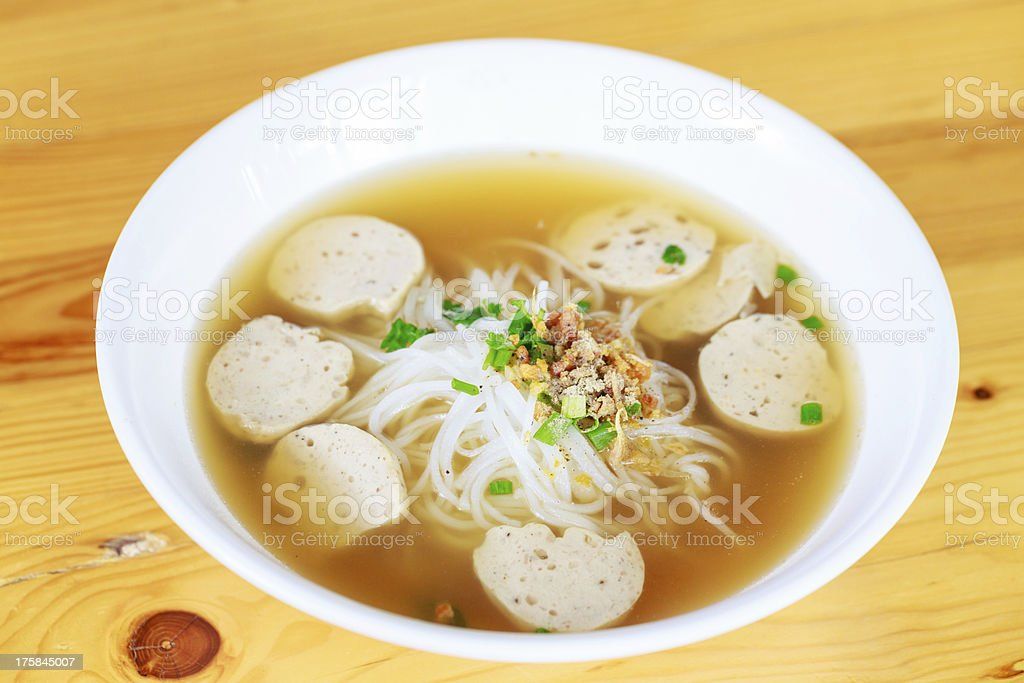 pho moo yo Vietnam stock photo