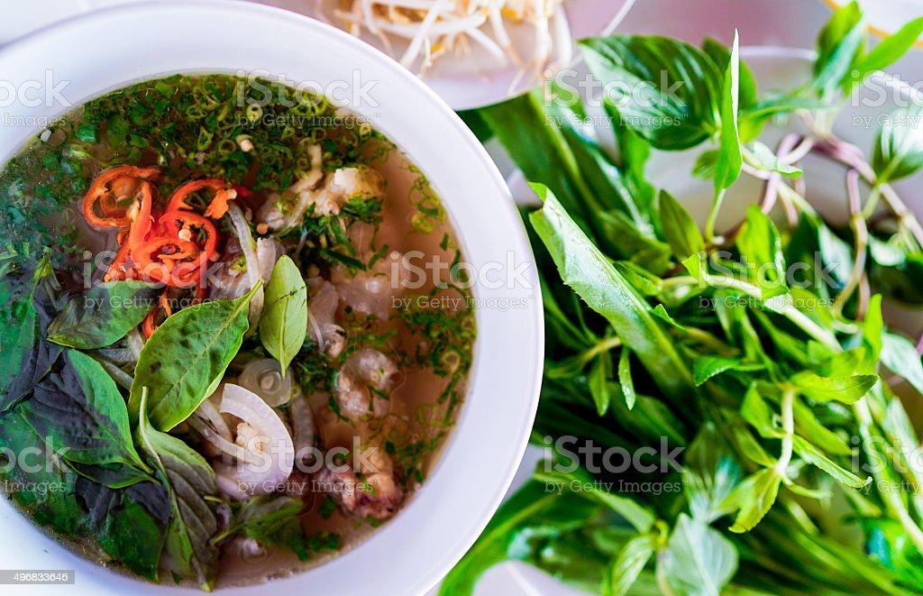 Pho Vietnam stock photo