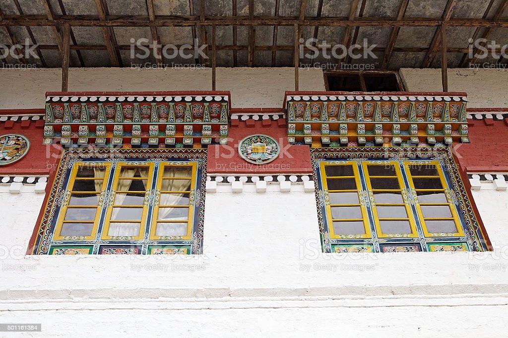 Phodong Monastery, Gangtok, Sikkim, India stock photo