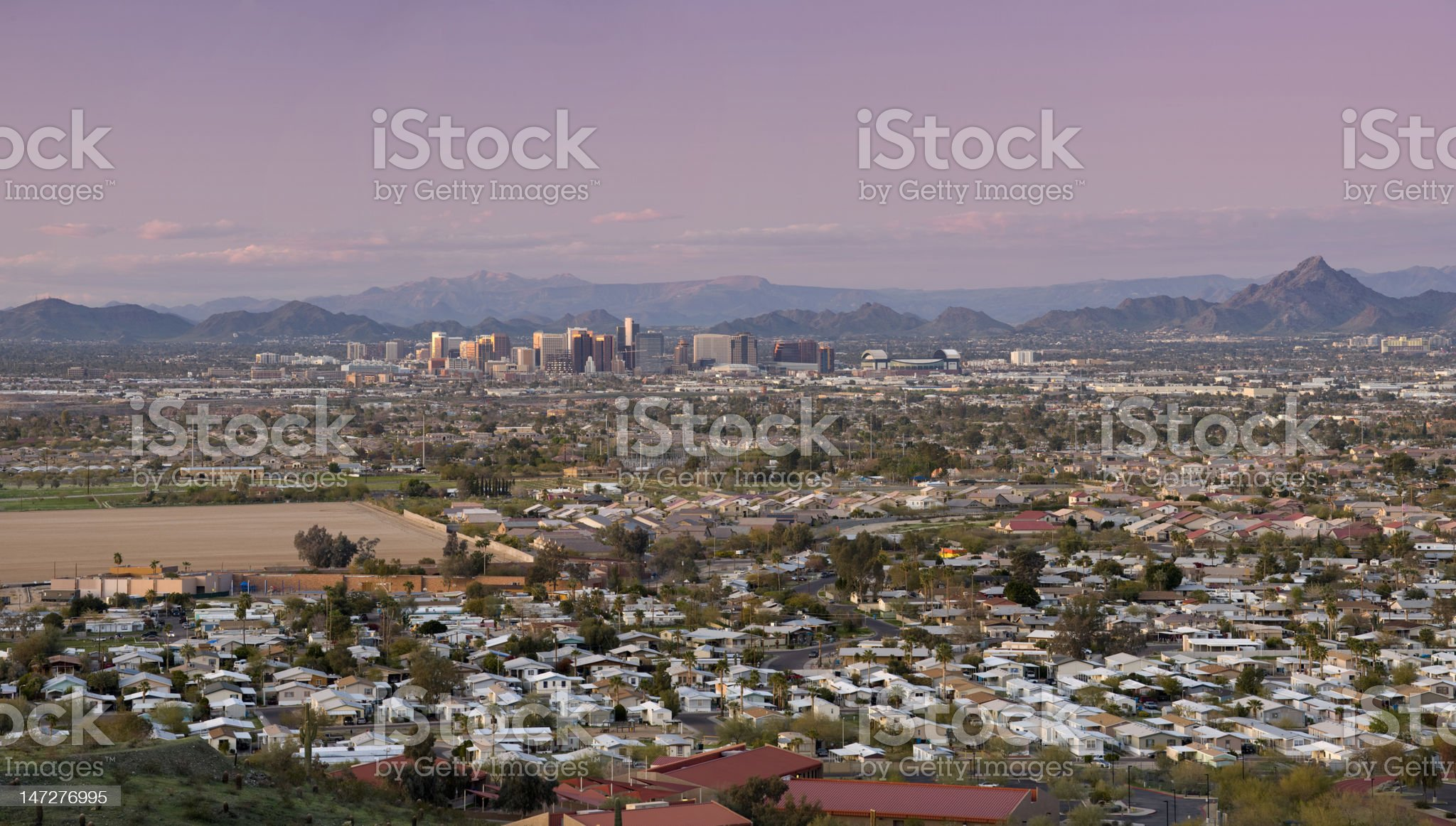 Phoenix Arizona Skyline royalty-free stock photo