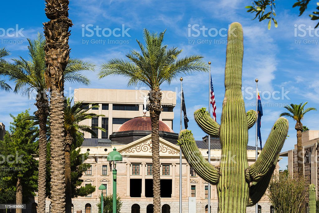 Phoenix Arizona State Capitol Building royalty-free stock photo