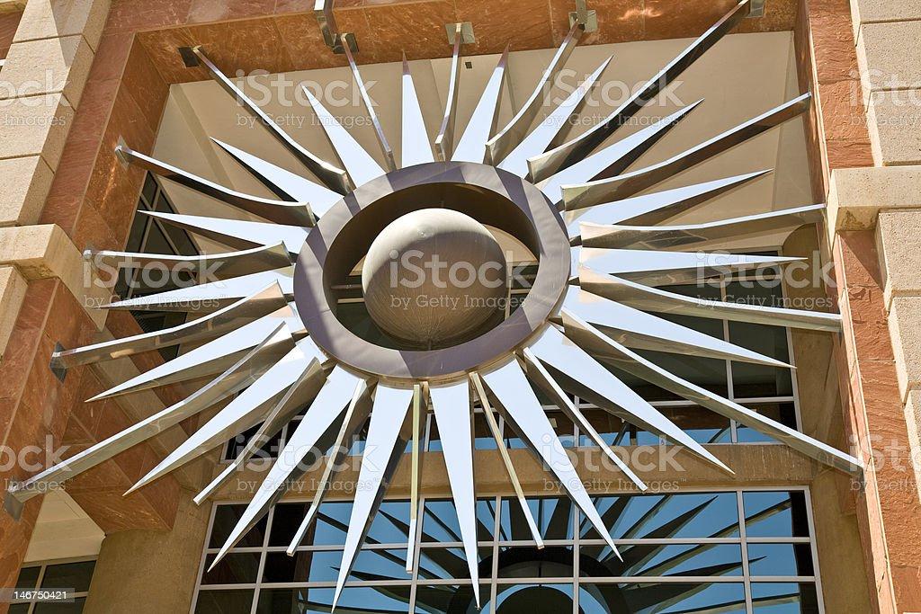 Phoenix City Hall Sunburst royalty-free stock photo