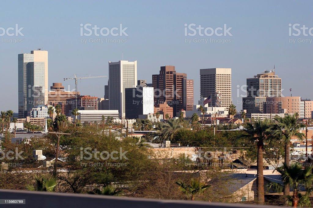 Phoenix Downtown, AZ royalty-free stock photo