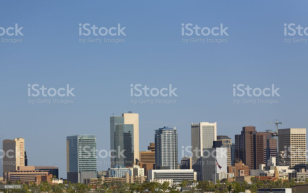 Phoenix Downtown, AZ royalty-free stock photo