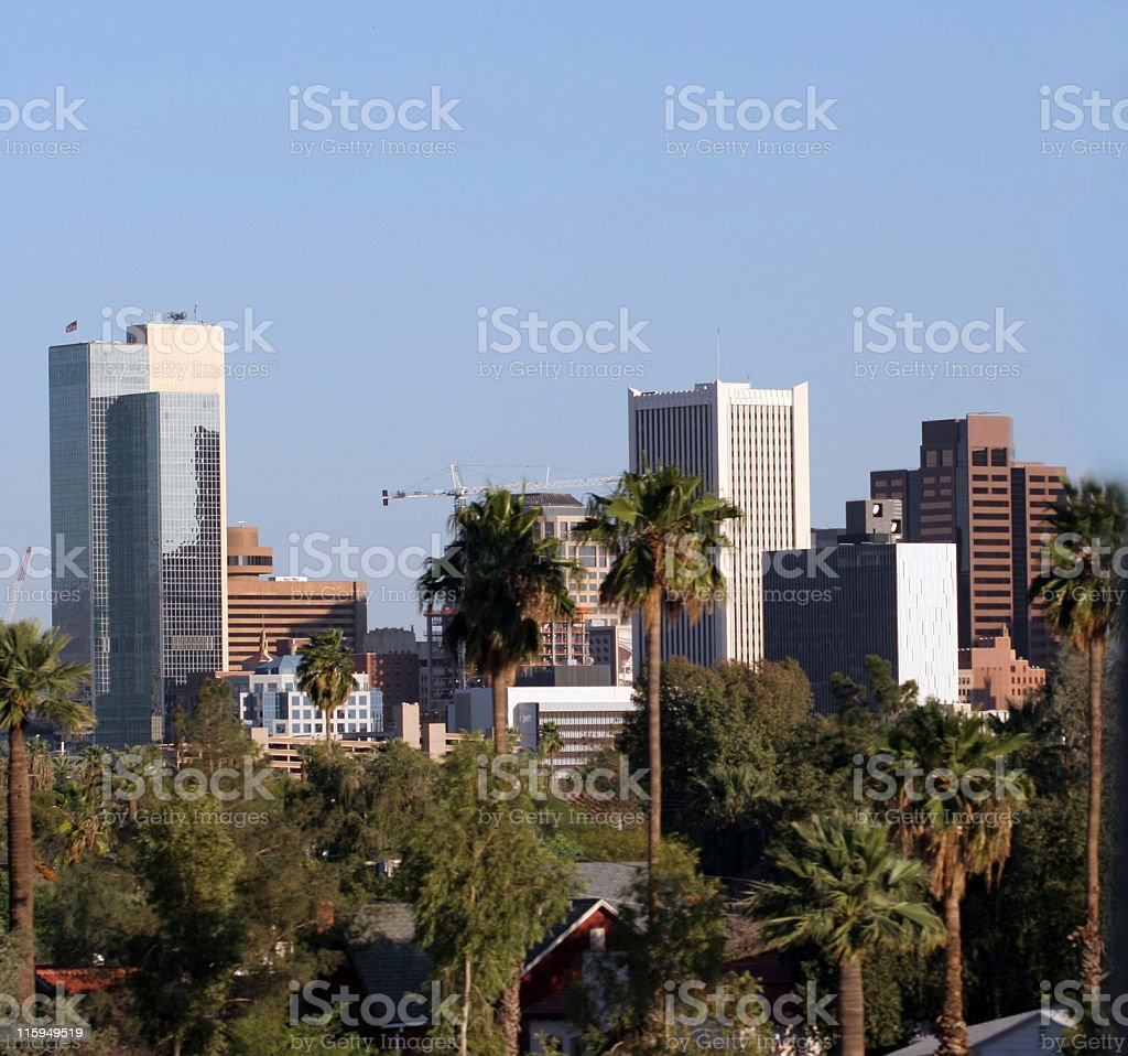 Phoenix Downtown royalty-free stock photo