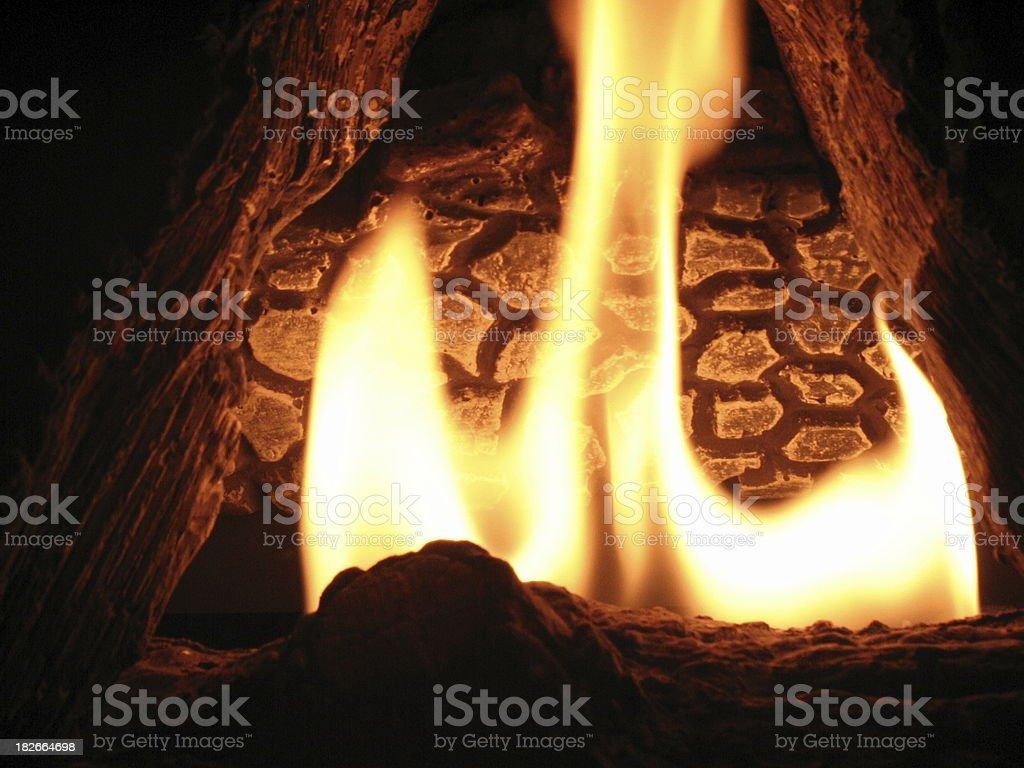 Phoenix flame stock photo