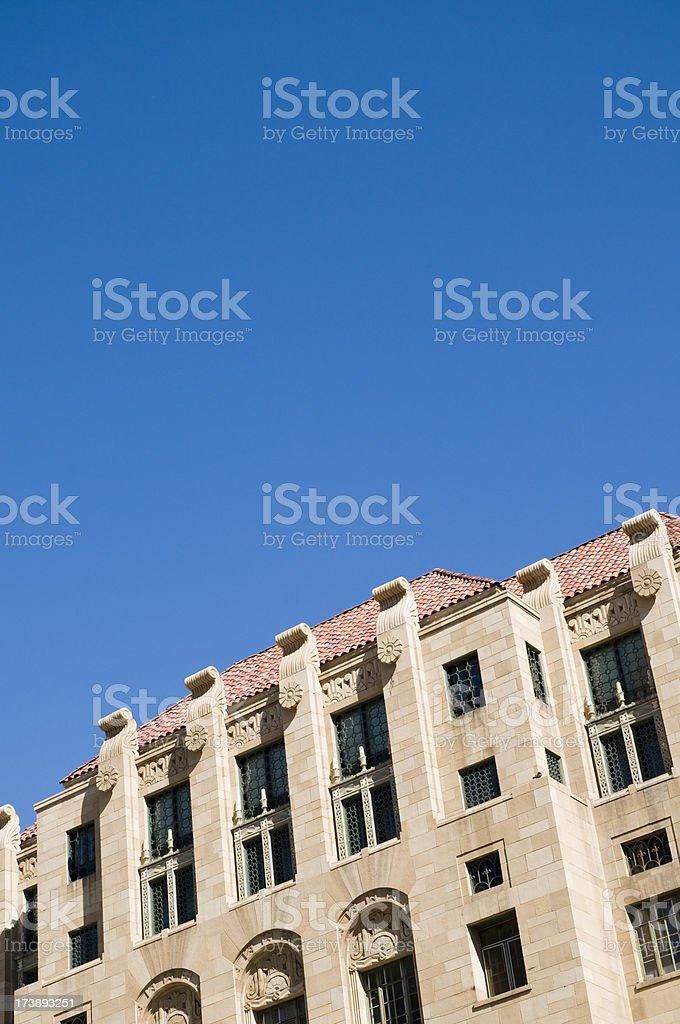 Phoenix historic city hall royalty-free stock photo