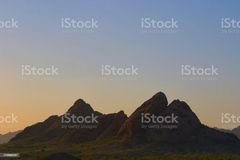Phoenix Mountain stock photo
