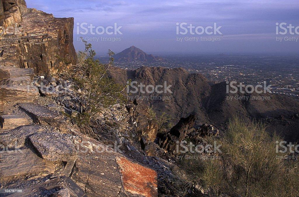 Phoenix Mountain View royalty-free stock photo