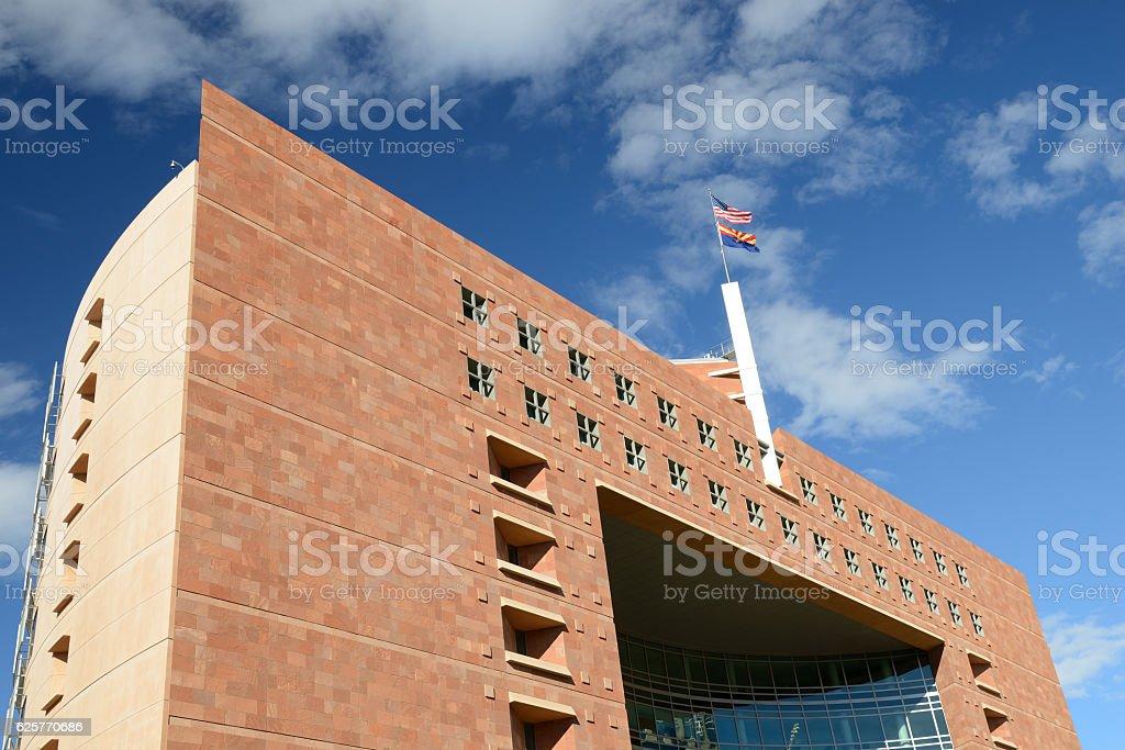 Phoenix Municipal Court stock photo