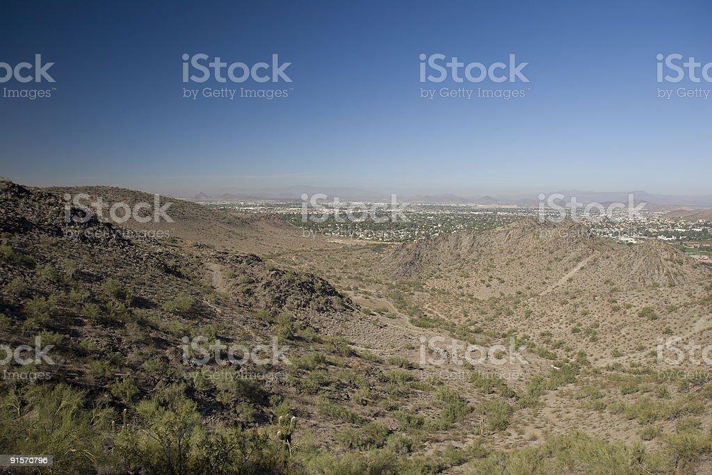 Phoenix North Side, AZ royalty-free stock photo