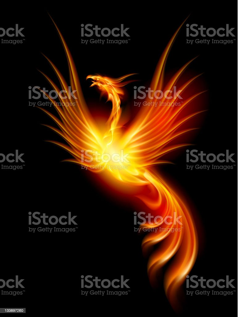 Phoenix royalty-free stock photo