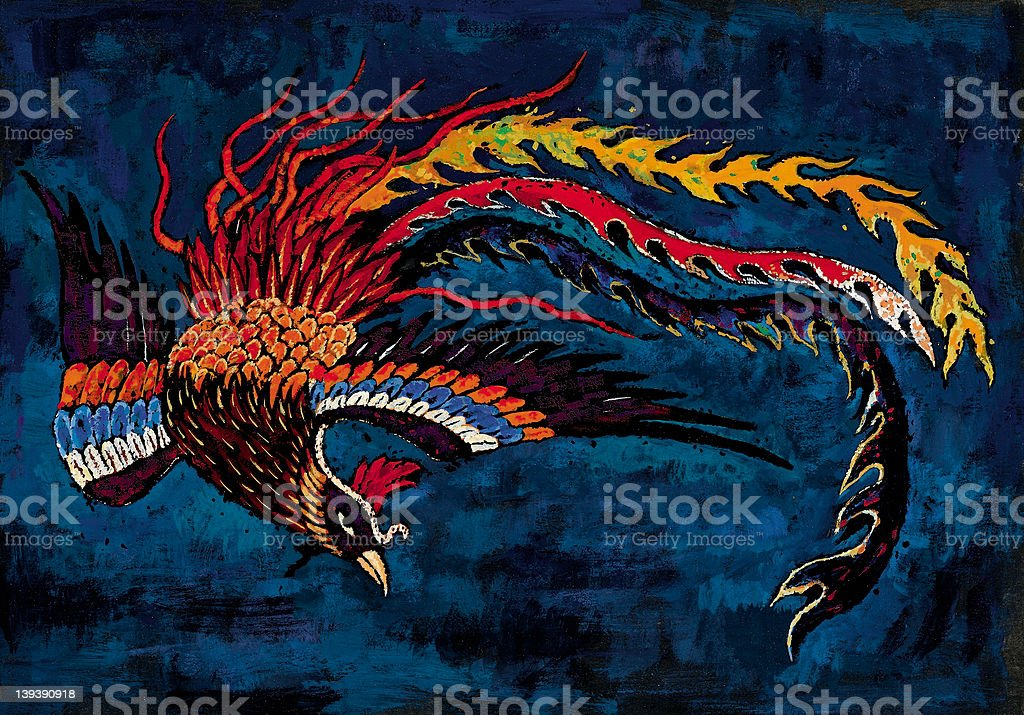 Phoenix royalty-free stock photo