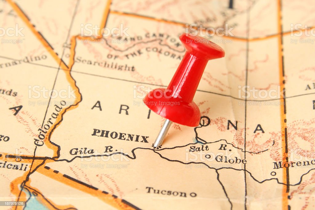 Phoenix stock photo