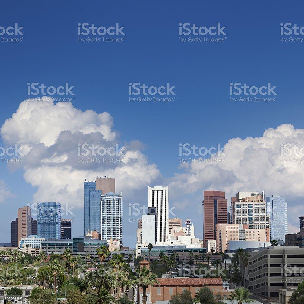 Phoenix skyline stock photo